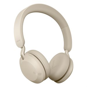 Jabra Elite 45h Wireless Headphones Gold Beige