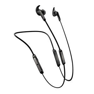 Jabra Elite 45e Bluetooth Stereo Headset, Silver / Black