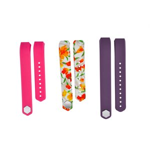 Affinity Fitbit ALTA / HR band 3pk TPU, Floral, SM