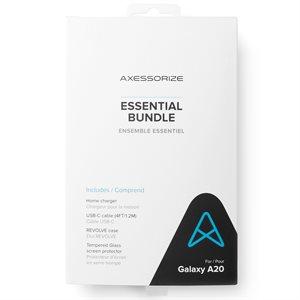 Axessorize Essential Bundle for Samsung Galaxy A20