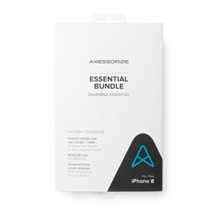 Axessorize Essential Bundle for iPhone SE2 / 8 / 7