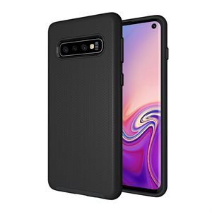 Axessorize PROTech Case for Samsung Galaxy S10, Black