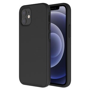 Axessorize PROTech Case for Apple iPhone 12 Mini, Black