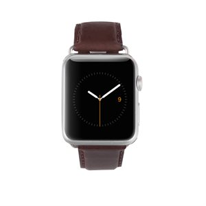 Case-Mate 42mm Leather Apple Watchband, Tobacco