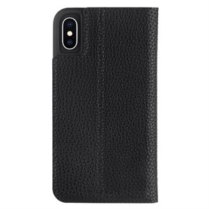 Case-Mate Barely There Folio Case for iPhone X / Xs, Black