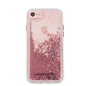 Case-Mate Waterfall Case for iPhone SE / 8 / 7 / 6 / 6s, Rose Gold