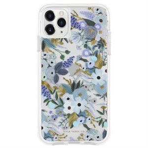 Case-Mate Rifle Paper Case for iPhone 11 Pro Max, Garden Party Blue