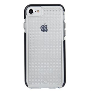 Case-Mate Tough Air Case for iPhone SE / 8 / 7 / 6 / 6s, Clear / Black