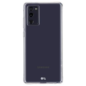 Case-Mate Tough Clear Case for Samsung Galaxy S20 FE 5G, Clear