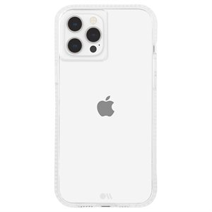 Case-Mate Tough Clear Plus Case for iPhone 12 Pro Max with Micropel - Clear