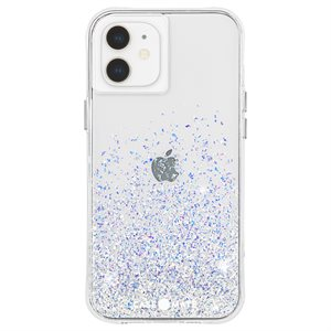 Case-Mate Twinkle Case for iPhone 12 Mini with Micropel - Ombre Stardust