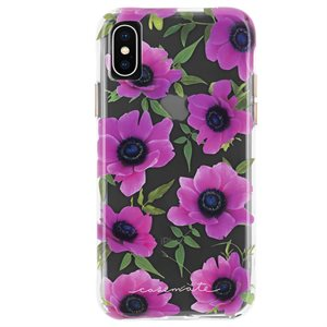 Case-Mate Wallpaper Case for iPhone X / Xs - Pink Poppy