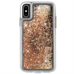 Case-Mate Waterfall Case for iPhone X / Xs, Gold