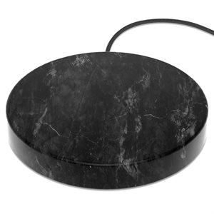 Einova Wireless 10W Charging Stone - Black Marble