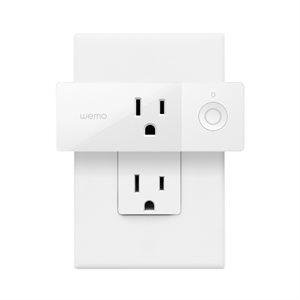 Belkin Wemo WiFi Mini Smart Plug - White