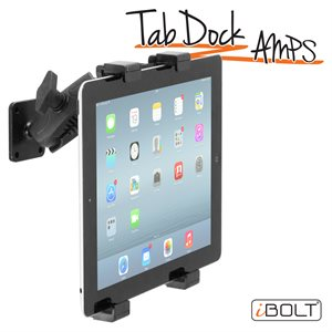 """iBOLT TabDock AMPs -Drill Base Mount for 7-10"""" Tab"""