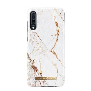 iDeal of Sweden Fashion Case Samsung Galaxy A70, Carrara Gold Marble
