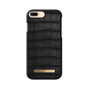 iDeal of Sweden Fashion Capri Case for iPhone 8 / 7 / 6s Plus, Black Croc