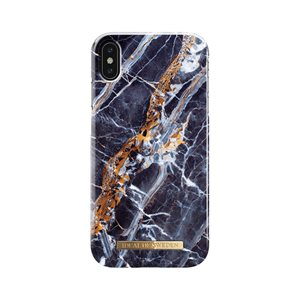 iDeal of Sweden Fashion Case for iPhone Xs Max, Midnight Blue Marble