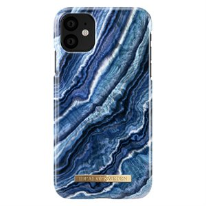 iDeal of Sweden Fashion Case for iPhone 11, Indigo Swirl