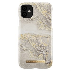iDeal of Sweden Fashion Case for iPhone 11, Sparkle Greige Marble