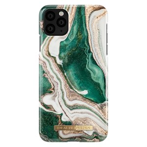 iDeal of Sweden Fashion Case for iPhone 11 Pro Max, Golden Jade Marble