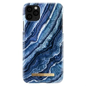 iDeal of Sweden Fashion Case for iPhone 11 Pro Max, Indigo Swirl