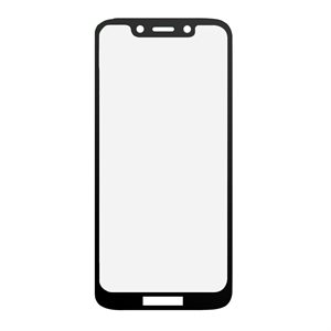 Moda Glass Screen Protector for Moto G7 Play Edge, Black / Clear