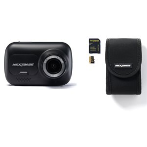 Nextbase Dash Cam 122 Bundle with Go Pack
