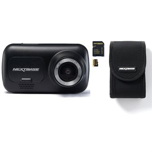 Nextbase Dash Cam 222 Bundle with Go Pack