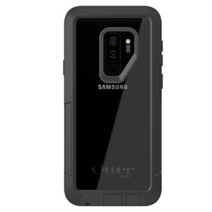 OtterBox Pursuit Case for Samsung Galaxy S9 Plus, Black / Clear