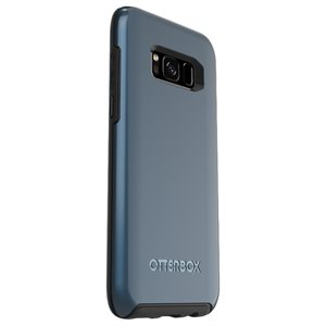 OtterBox Symmetry Case for Samsung Galaxy S8, Blue Coral Metallic