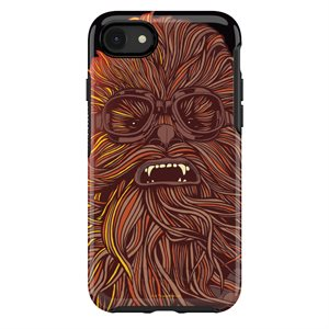 OtterBox Symmetry Case for iPhone SE / 8 / 7, Chewbacca