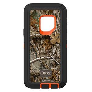 OtterBox Defender Samsung Galaxy S9, Real Tree Blaze Edge