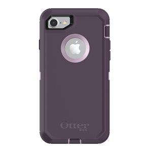 OtterBox Defender Case for iPhone SE / 8 / 7, Purple Nebula