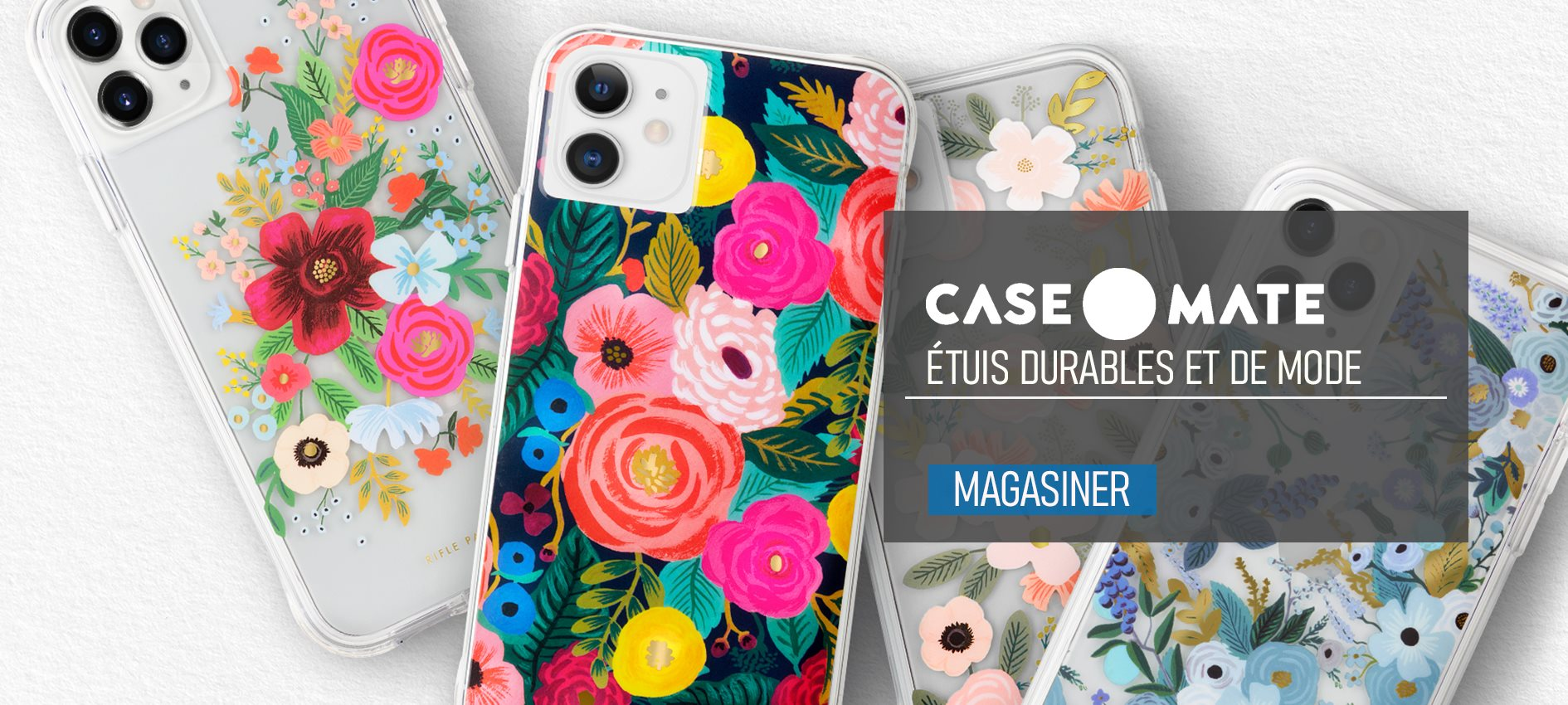 Étuis CASE-MATE durables et de mode